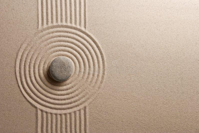 Jardín del zen fotografía de archivo libre de regalías