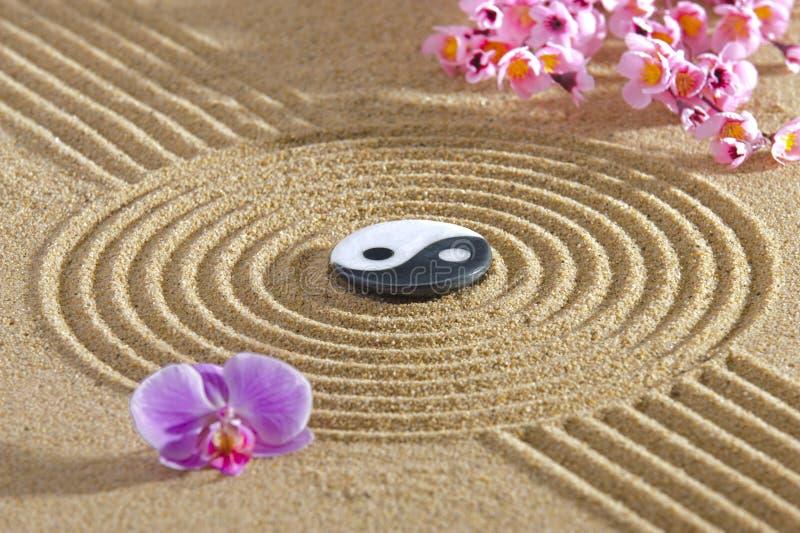 Jardín del zen de Japón foto de archivo libre de regalías
