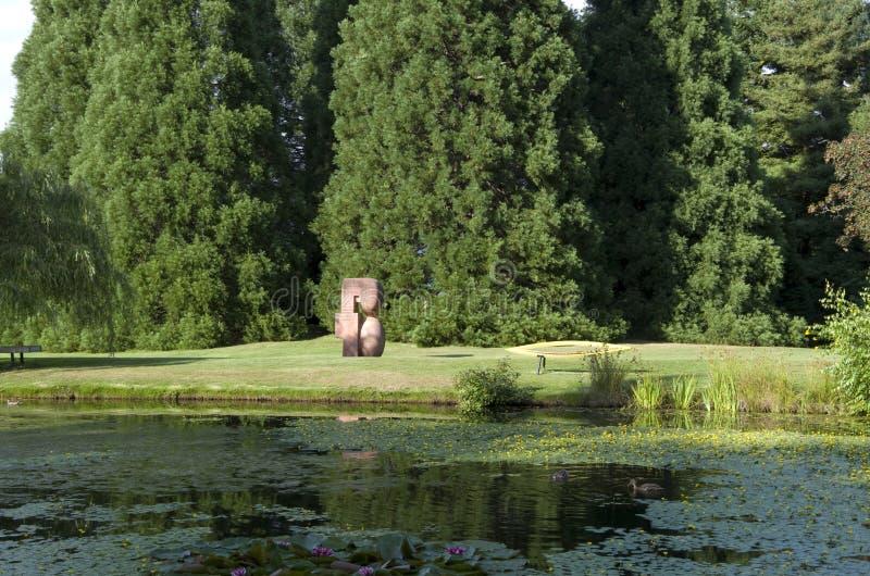 Jardín en verano foto de archivo libre de regalías