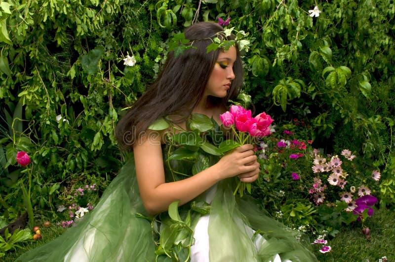 Jardín encantado imagen de archivo libre de regalías