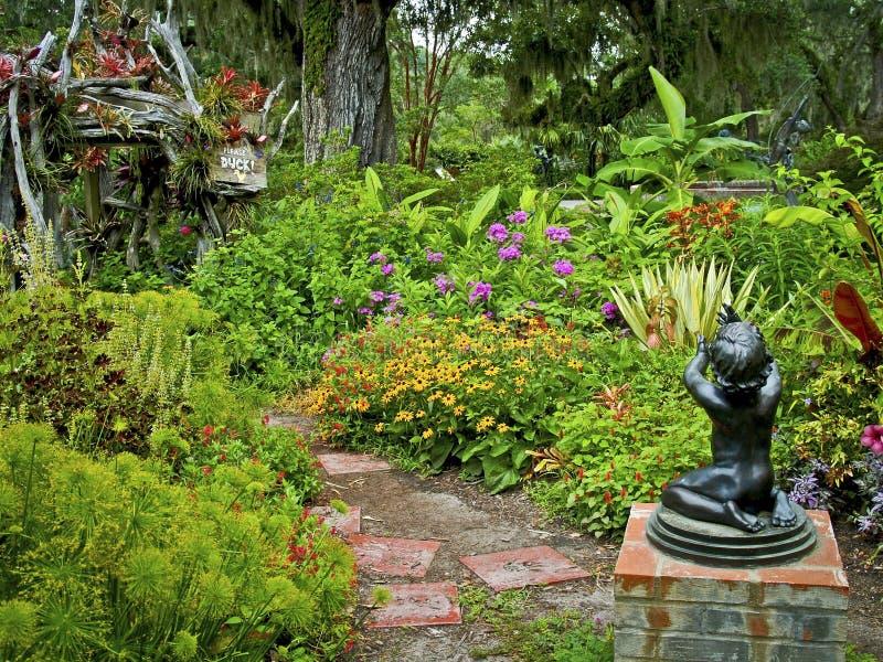 Jardín enorme fotografía de archivo