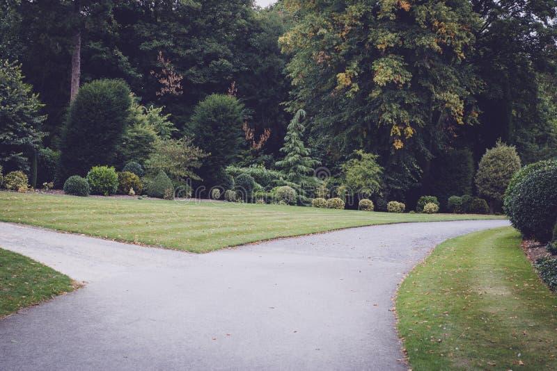 Jardín hermoso en Doncaster imagen de archivo libre de regalías
