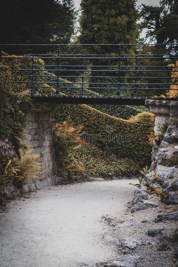 Jardín hermoso en Doncaster fotografía de archivo libre de regalías