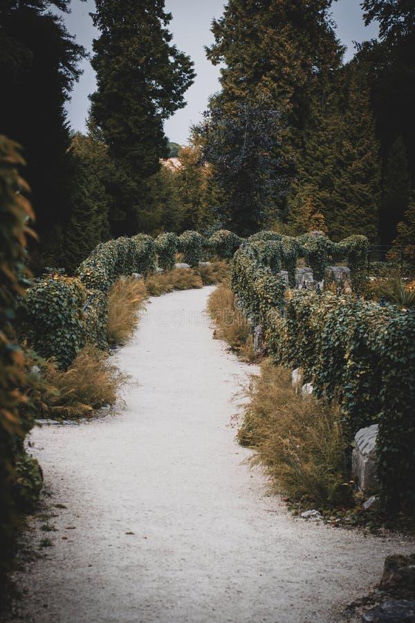 Jardín hermoso en Doncaster fotos de archivo