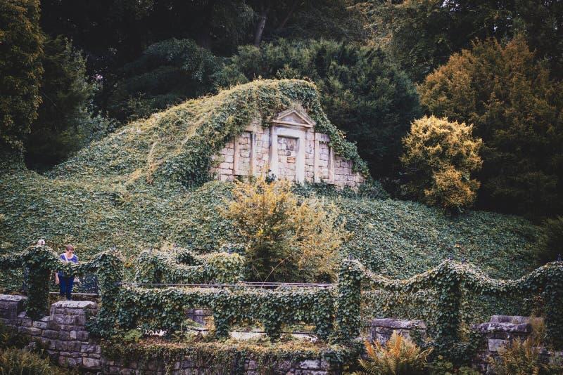 Jardín hermoso en Doncaster imagenes de archivo