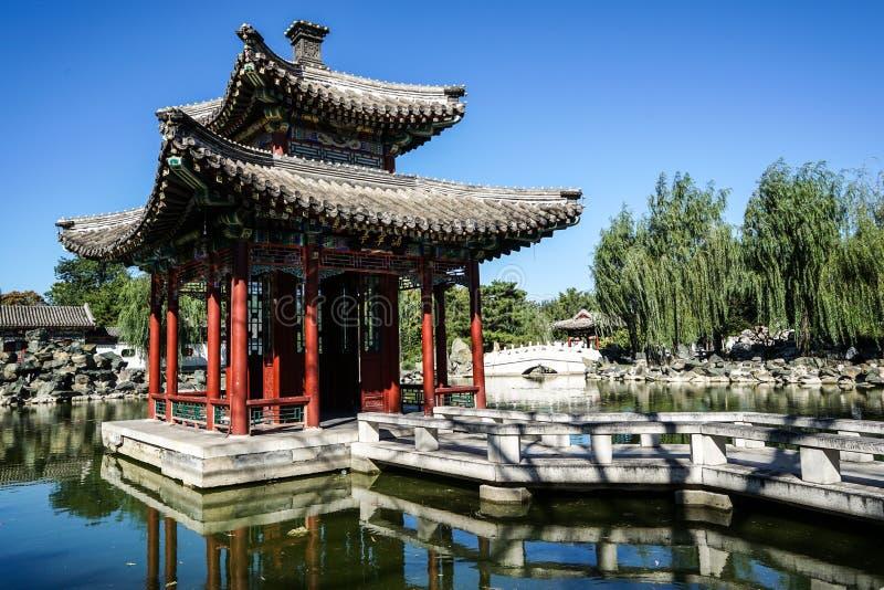 Jardín histórico de Pekín, China foto de archivo libre de regalías