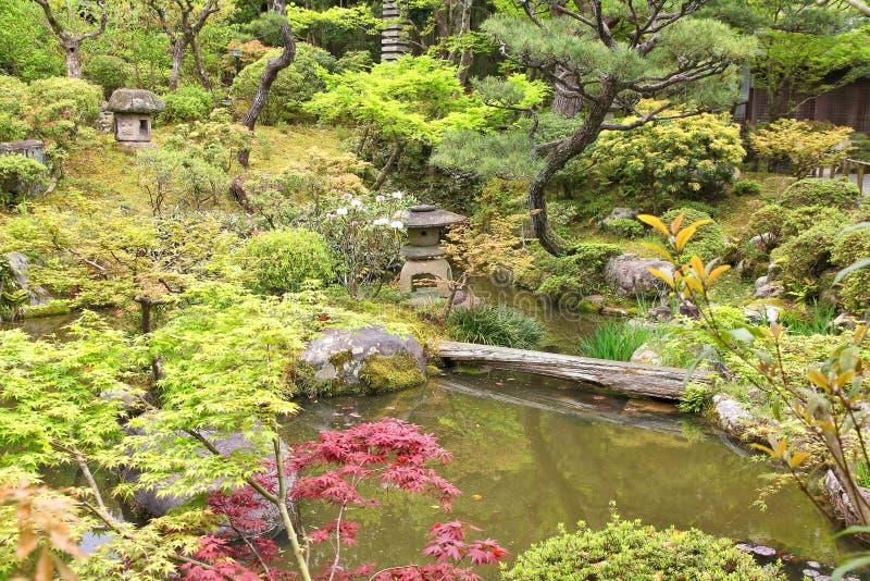 Jardín japonés en Nara fotos de archivo