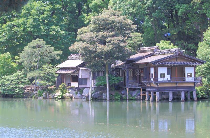 Jardín Kanazawa Japón de Kenrokuen fotografía de archivo