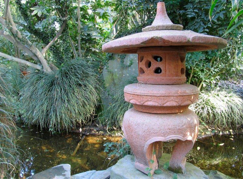 Jardín oriental foto de archivo