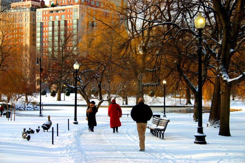 Download Jardín público de Boston imagen de archivo. Imagen de cielo - 1289777