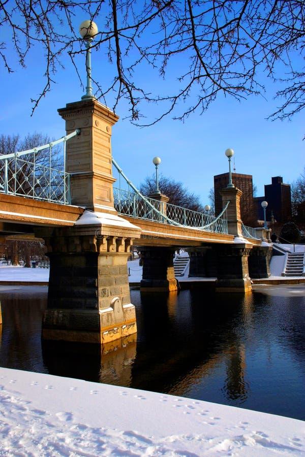 Download Jardín público de Boston foto de archivo. Imagen de bahía - 1289786