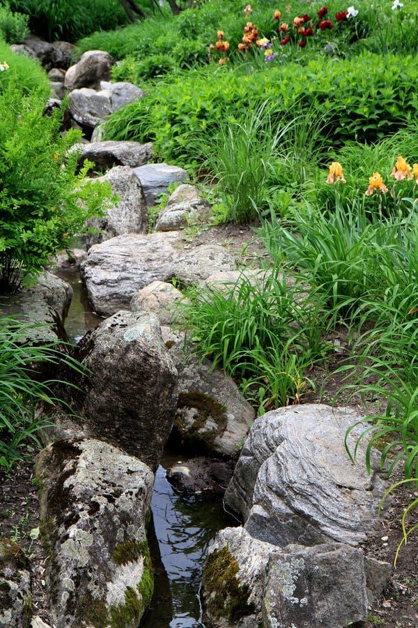 Jardín pacífico fotos de archivo libres de regalías