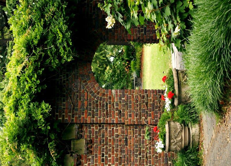 Jardín secreto imagen de archivo