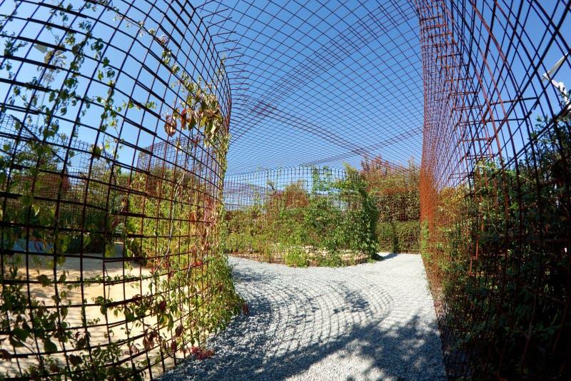 Jardín sensorial foto de archivo