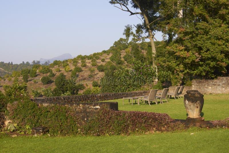 Jardín surafricano del país imagen de archivo libre de regalías