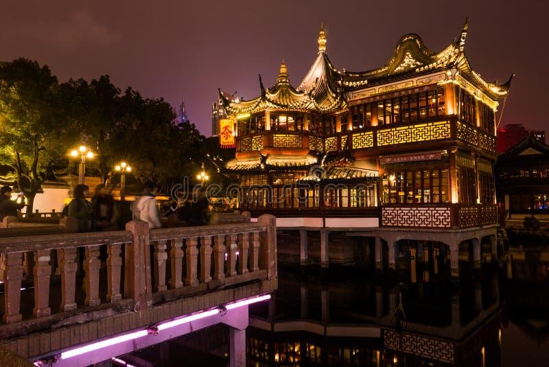 Jardín tradicional chino de Yuyuan en Shangai imágenes de archivo libres de regalías