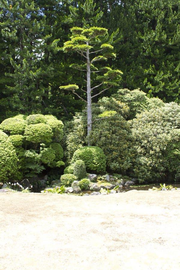 Jardín tradicional del zen del templo de Nanzenji foto de archivo