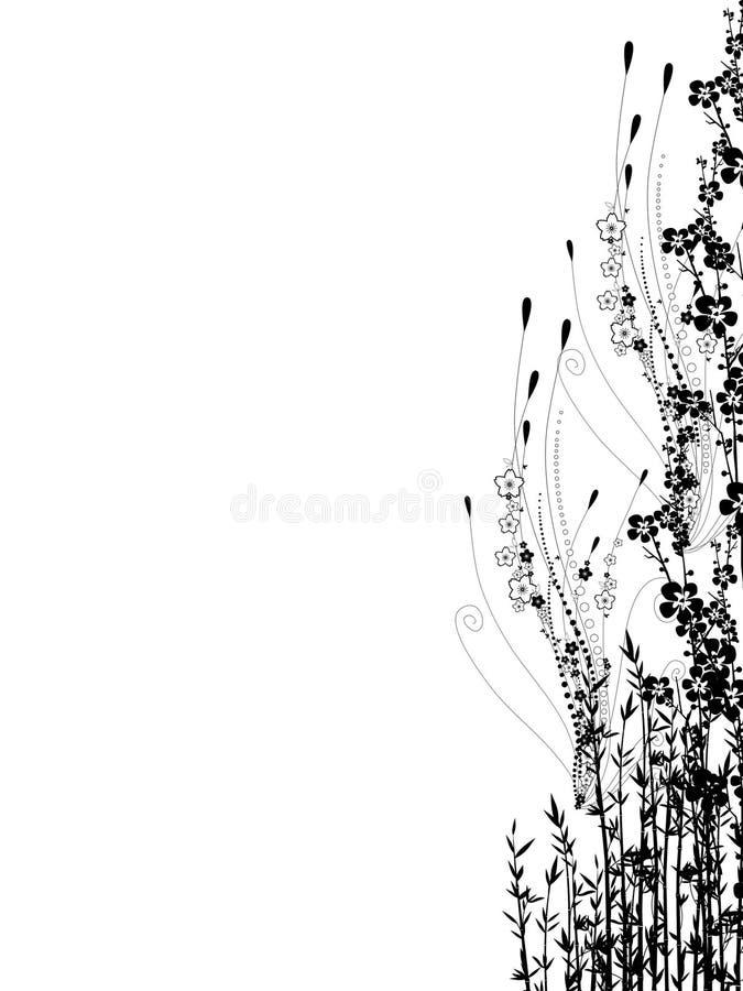 Jardín - variedad ilustración del vector
