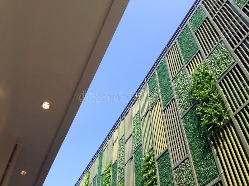 Jardín vertical de la pared fotos de archivo libres de regalías