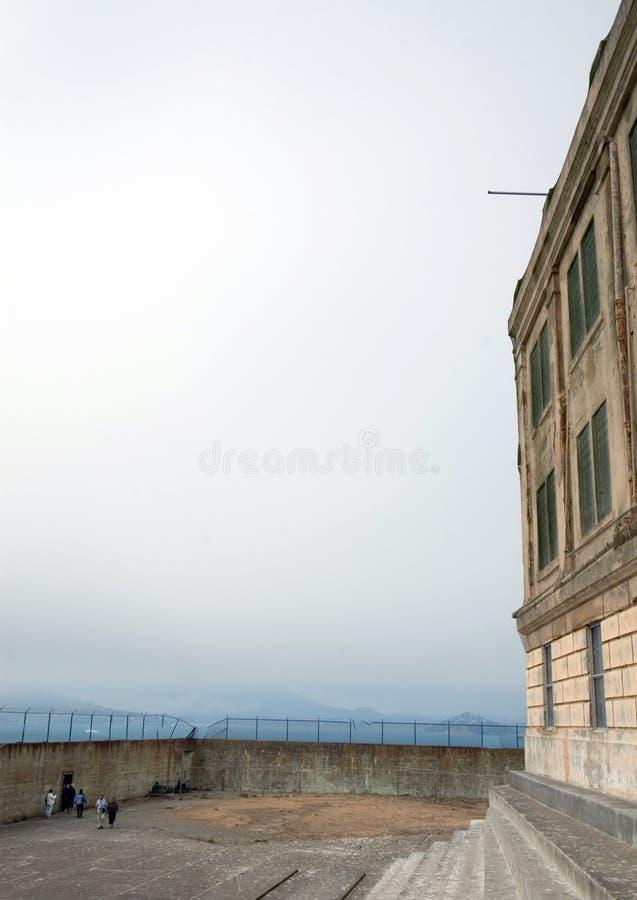 Jarda do exercício em Alcatraz