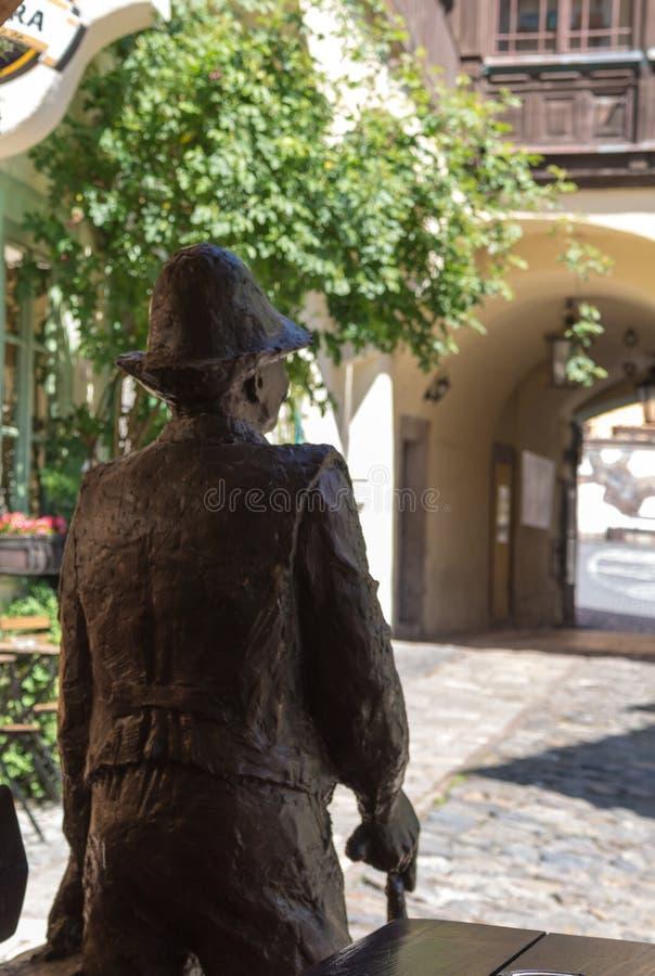 Jarda do museu da mineração em Banska Stiavnica, Eslováquia foto de stock royalty free