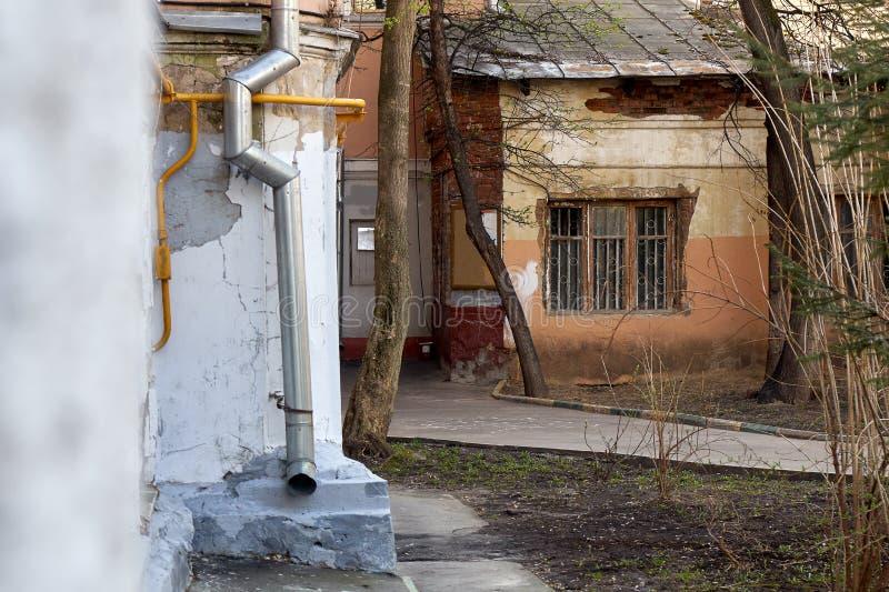 Jarda velha de Moscou na mola foto de stock royalty free