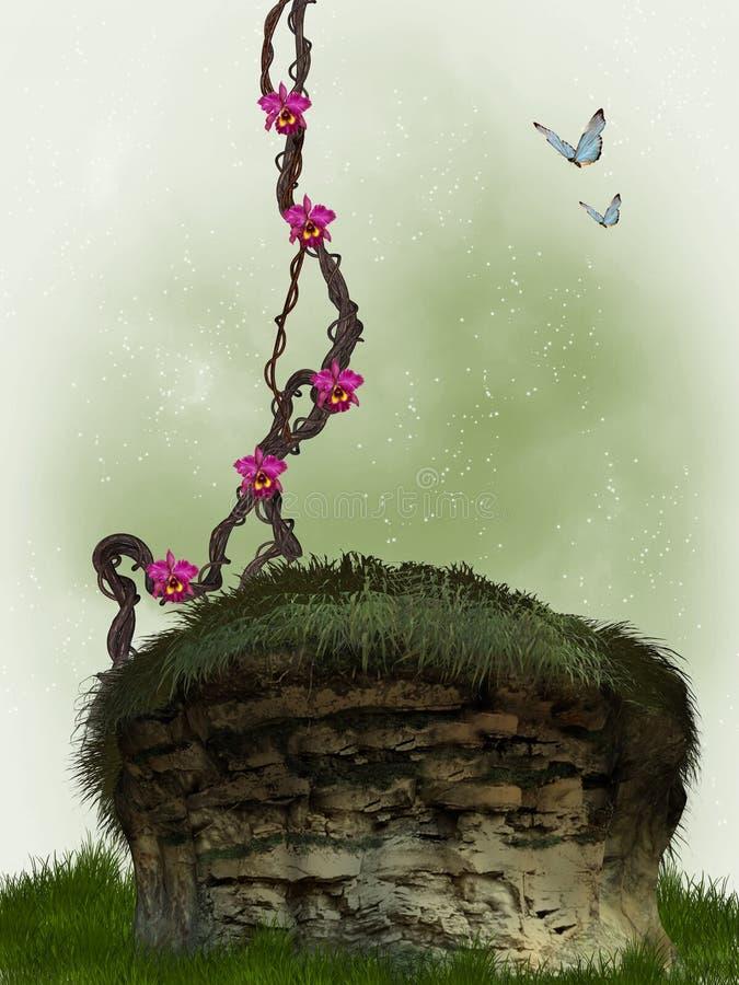 Jardim ilustração stock