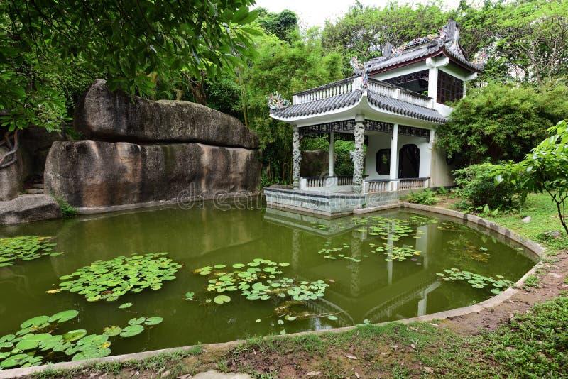 Jardim antigo chinês foto de stock royalty free