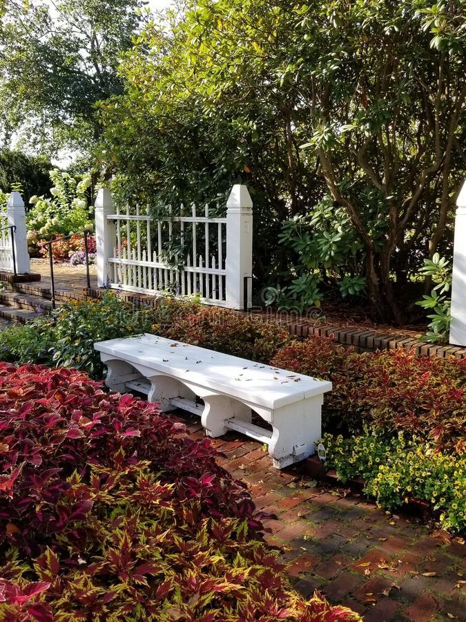 Jardim Bemch fotos de stock