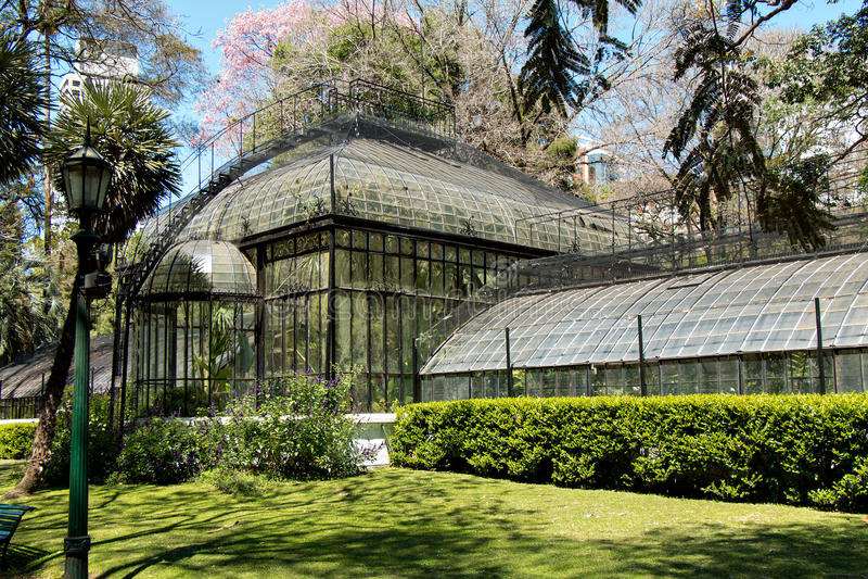 Jardim botânico, Buenos Aires Argentina foto de stock
