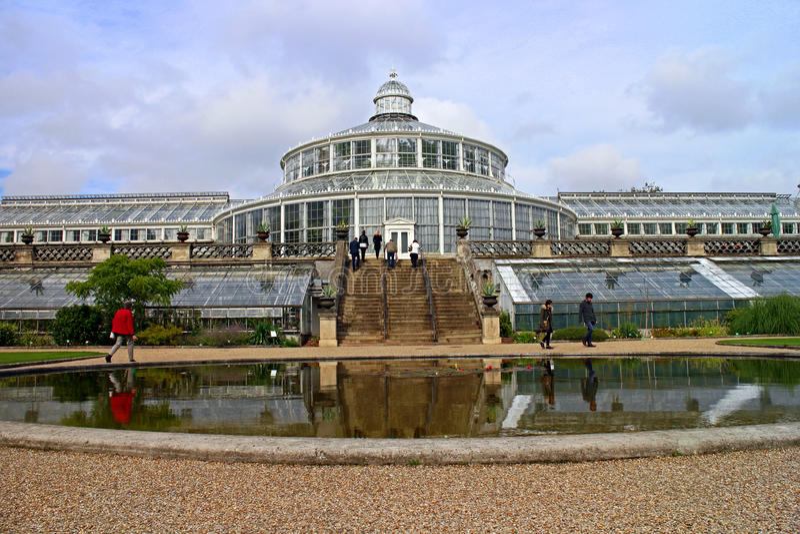Jardim botânico, Copenhaga imagens de stock royalty free