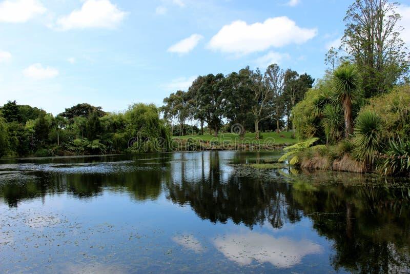 Jardim botânico de Auckland imagem de stock
