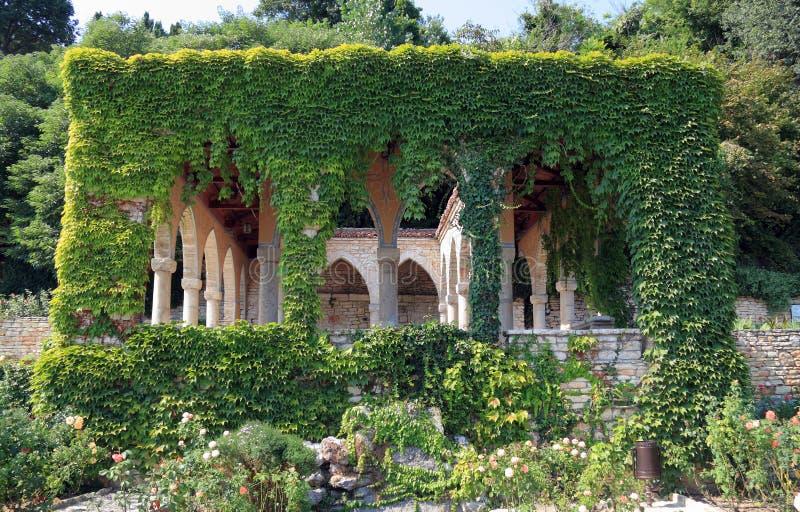 Jardim botânico de Balchik foto de stock