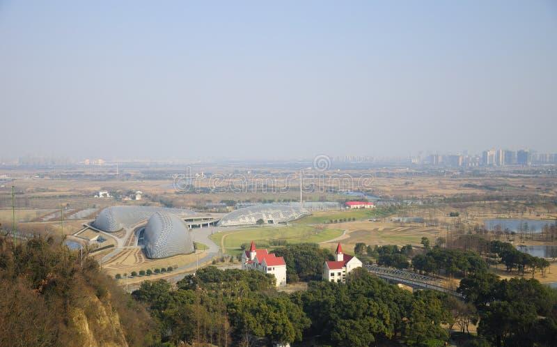 Jardim botânico de Chenshan fotografia de stock