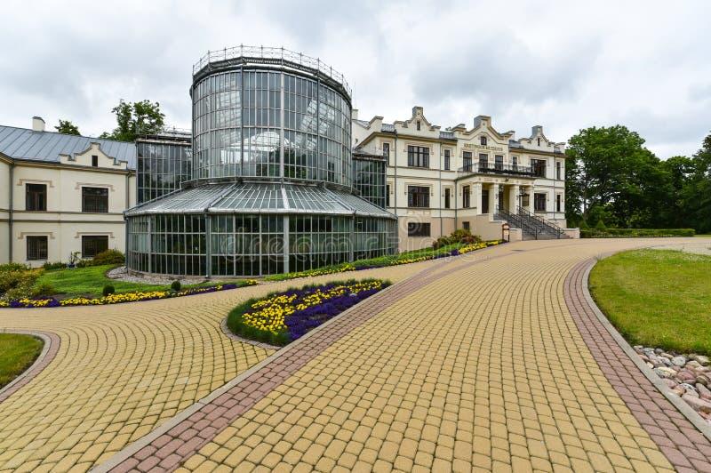 Jardim botânico de Kretinga, Lituânia imagens de stock