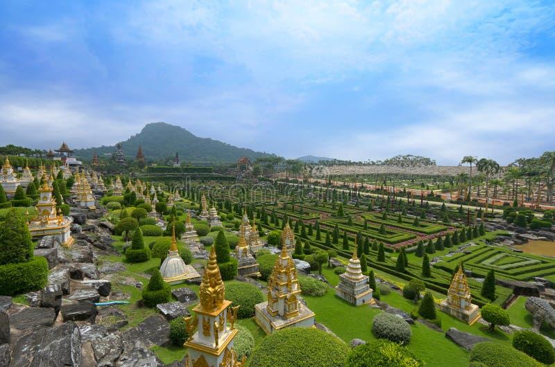 Jardim botânico de Noong Nooch foto de stock royalty free