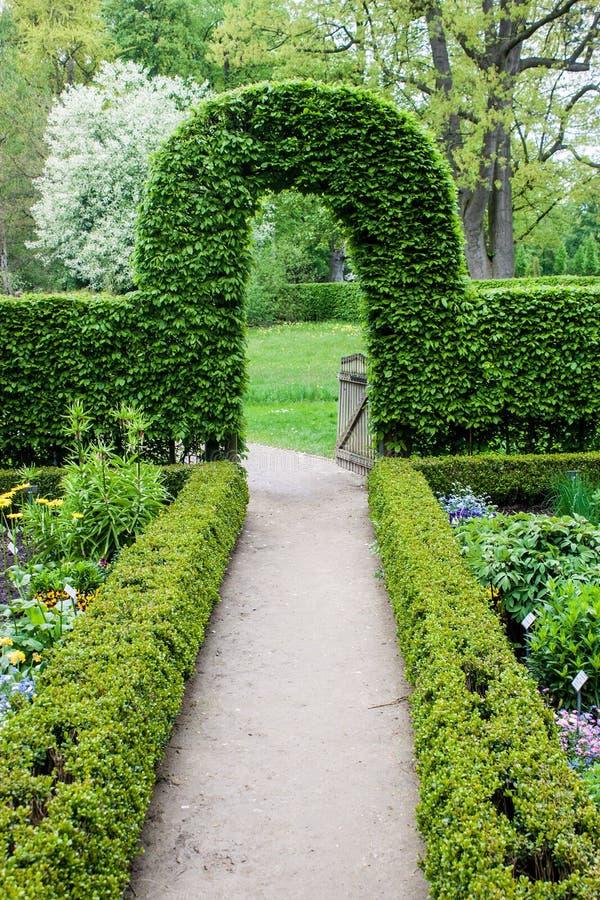 Jardim botânico em Muenster imagem de stock