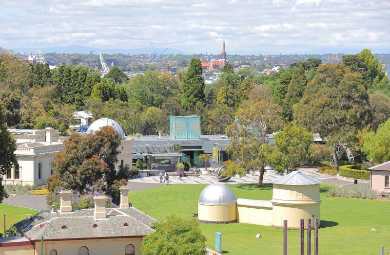 Jardim botânico real Melbourne Austrália fotografia de stock royalty free