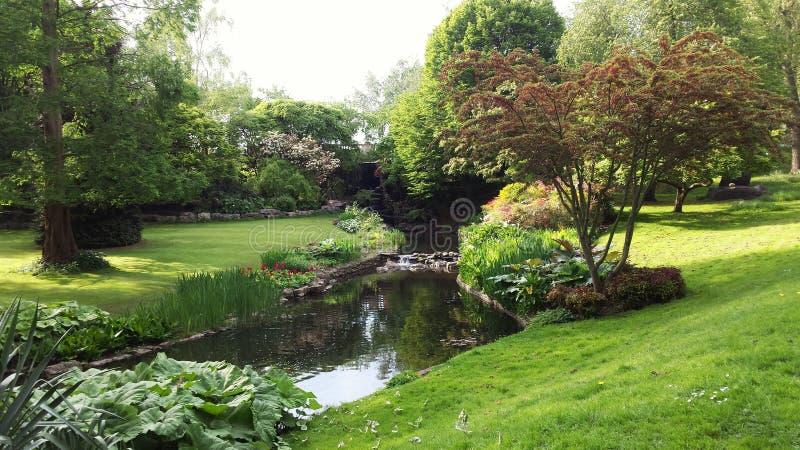 Jardim britânico imagens de stock