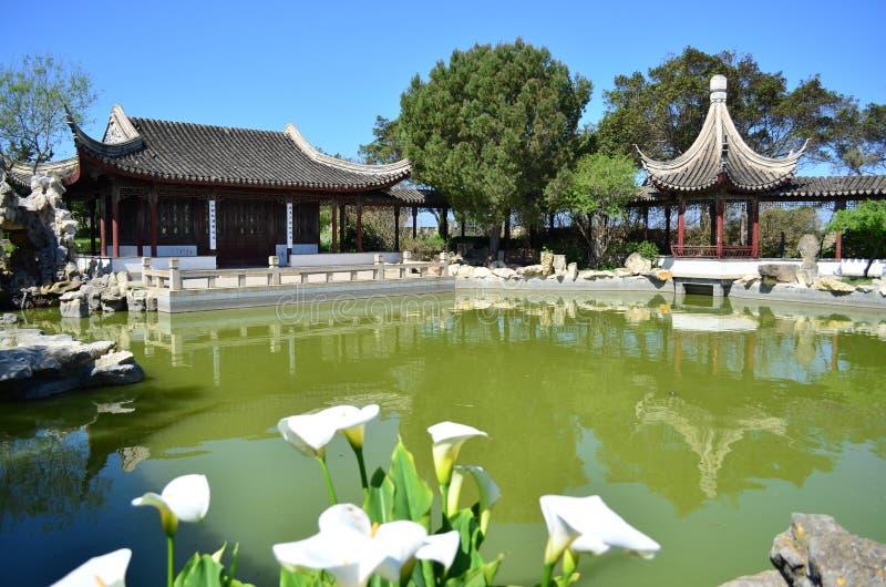 Jardim chinês foto de stock royalty free