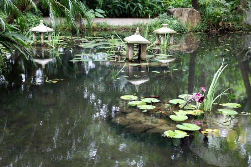 Jardim chinês, Sul da China fotos de stock royalty free