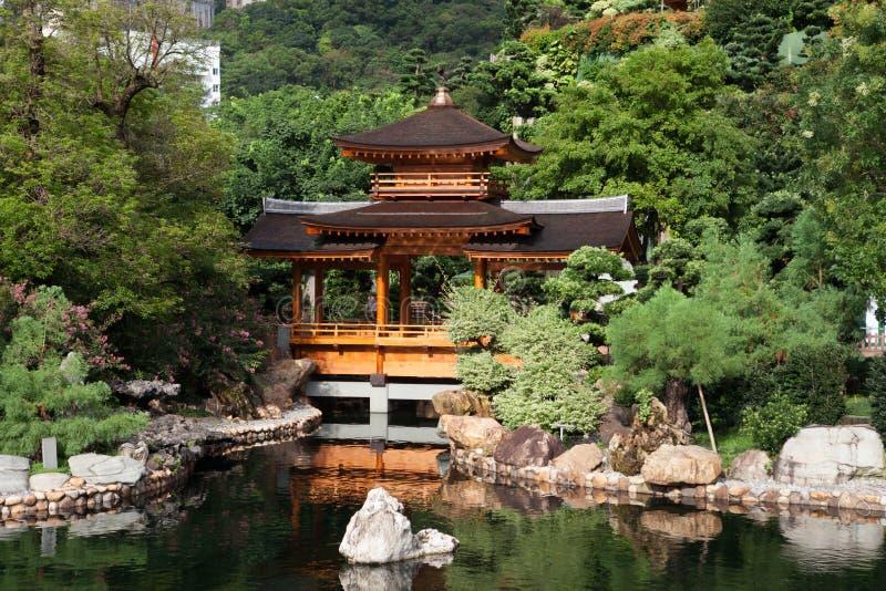 Jardim clássico chinês fotos de stock royalty free