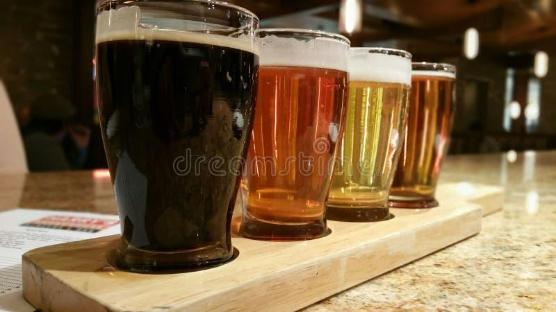 Jardim da cerveja imagens de stock
