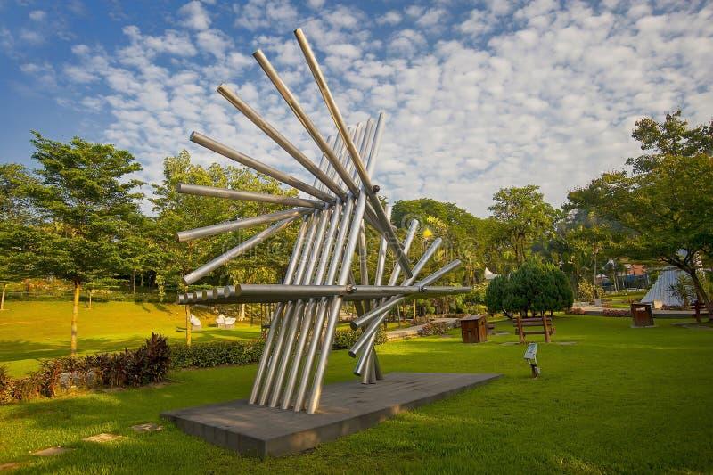 Jardim da escultura do ASEAN foto de stock royalty free