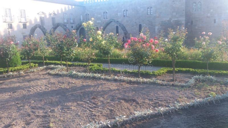 Jardim de Braga, flores de Portugal imagem de stock