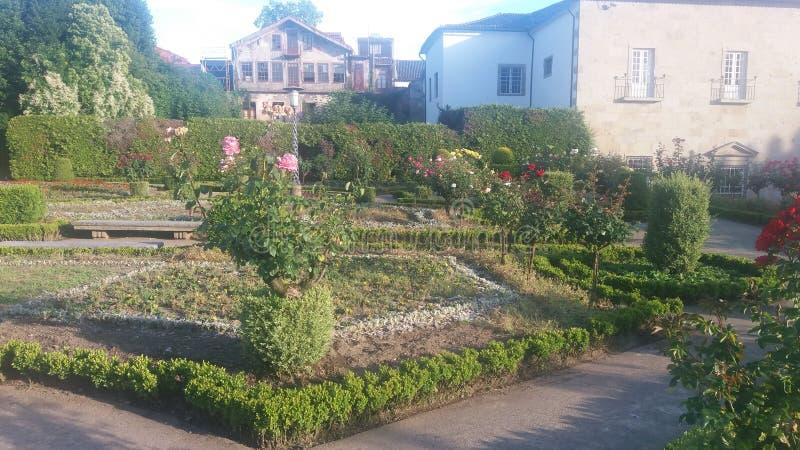 Jardim de Braga, Portogallo fotografia stock libera da diritti