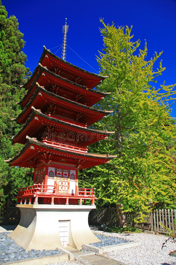 Jardim de chá japonês em San Francisco foto de stock royalty free