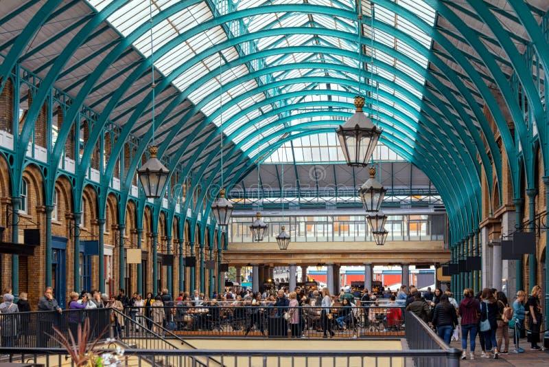 Jardim de Covent na Londres imagem de stock royalty free