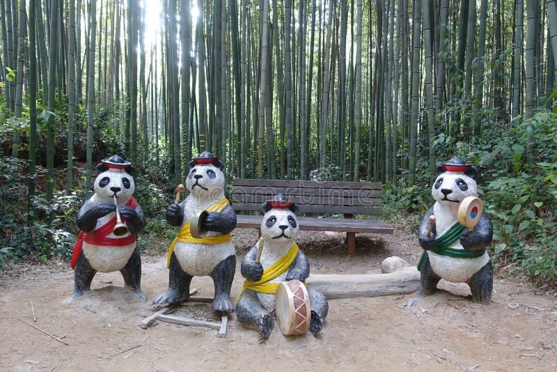 Jardim de Damyang Juknokwon foto de stock