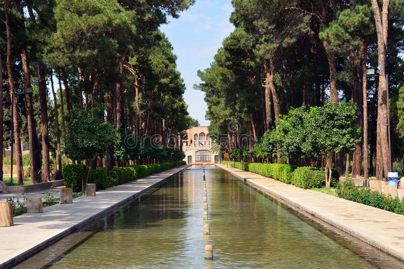 Jardim de Dowlat Abad fotos de stock royalty free